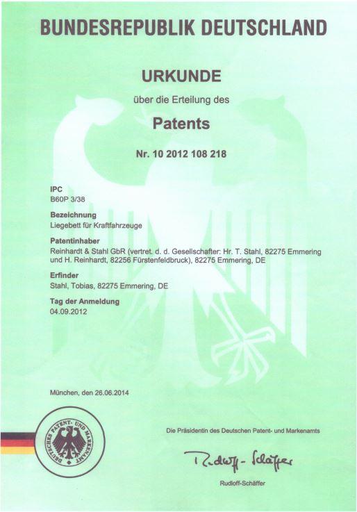 Patent Deutsch