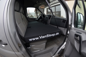 VanSleep transporter bed
